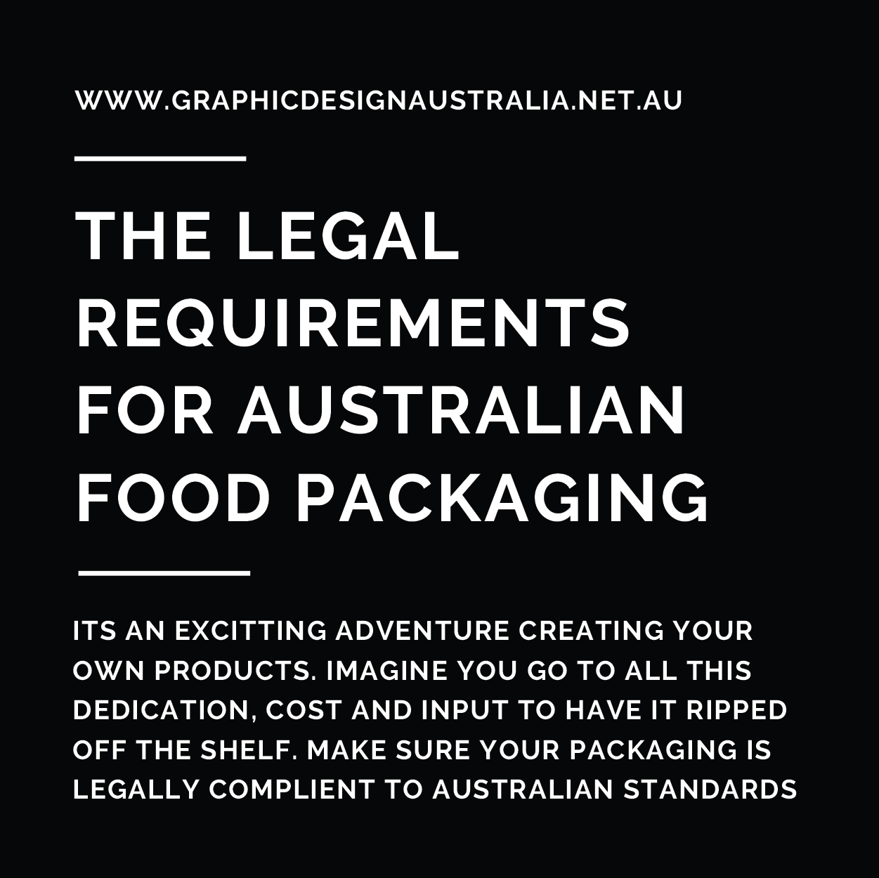 Legal Requirements for Australian Food Packaging