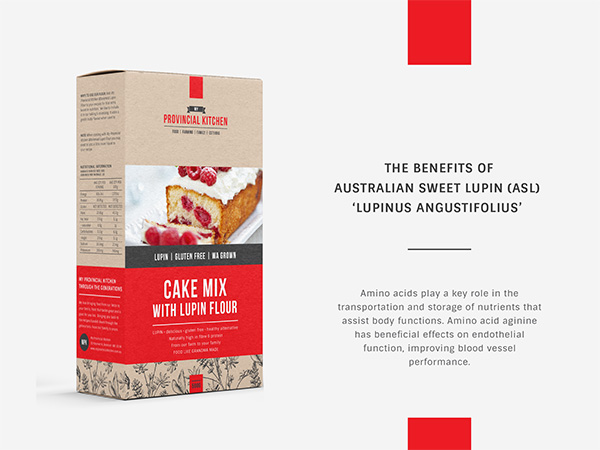 My Provincial Kitchen - Lupin Packaging Design