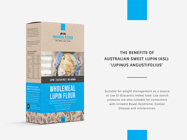 Lupin Packaging Design - Lupin Label Design