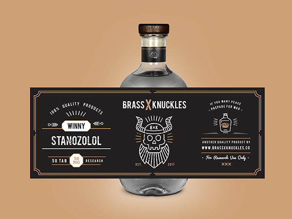 BRASS X KNUCKLES, Medical Packaging Design