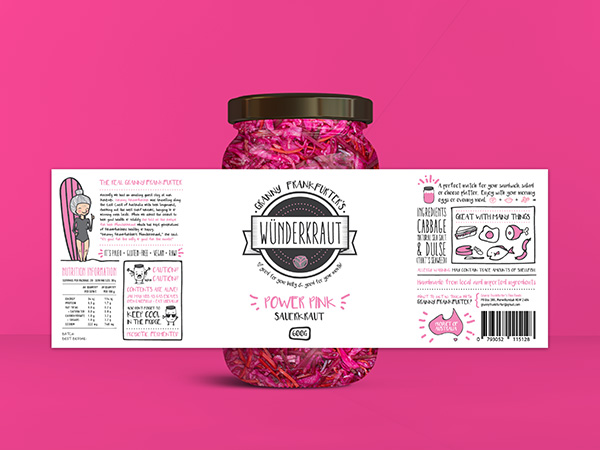 Sauerkraut Packaging Design