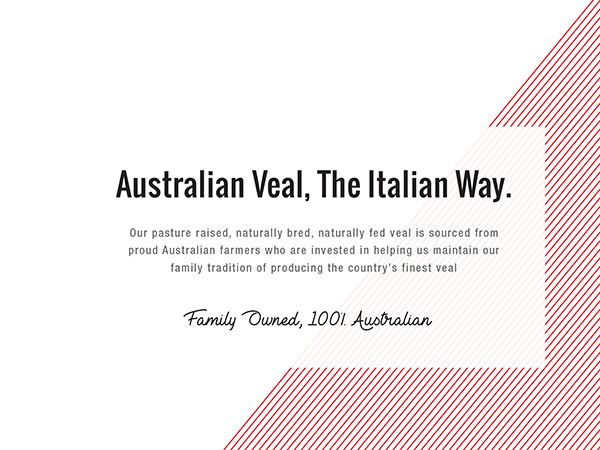 VENTO VEAL - Green Mountain Meats Veal Packaging Design